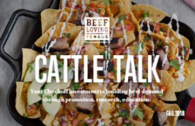 Cattle Talk Fall 2018