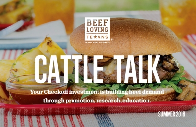 cattle talk summer 2018
