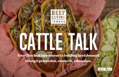 cattle talk spring 2018
